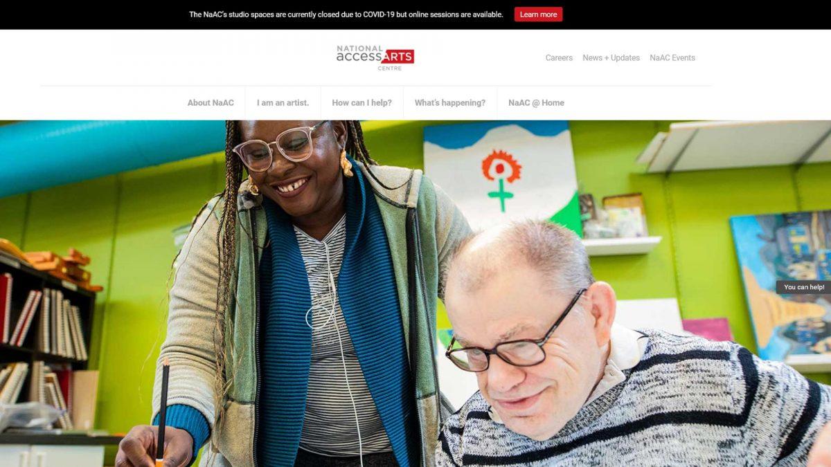 NaAC has a new website