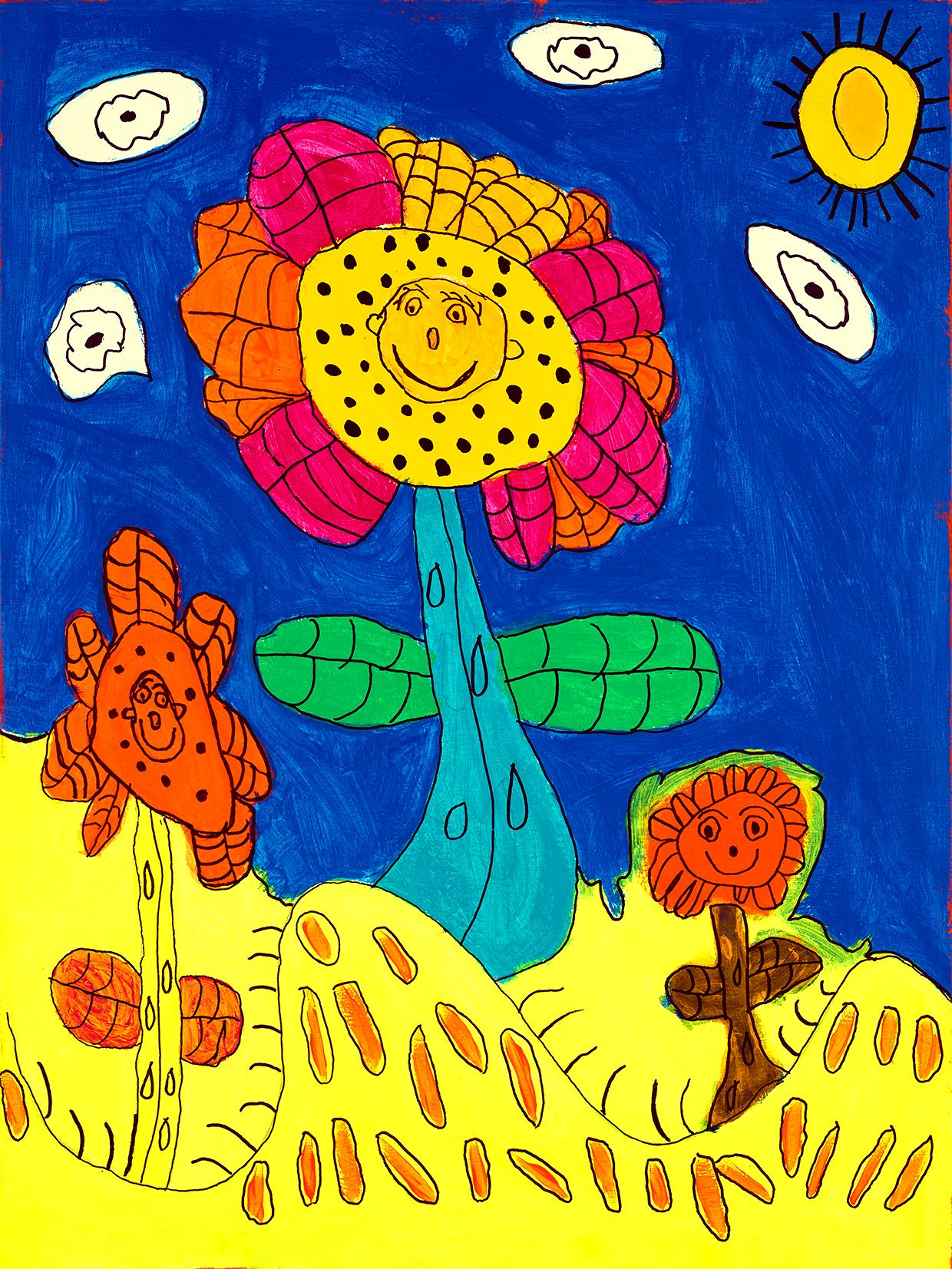 TonyGoodison_MySpecialPeacefulSunflowers_2021_1.1