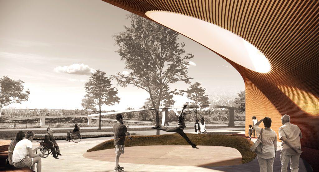 NaAC Multidisciplinary Arts Facility Rendering